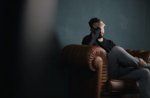 Man Eating Disorder Struggling with Recovery